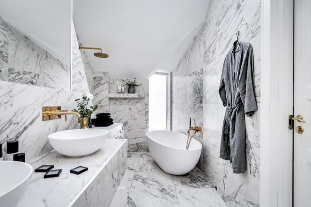 Цвет в ванной комнате: советы эксперта (фото 23)