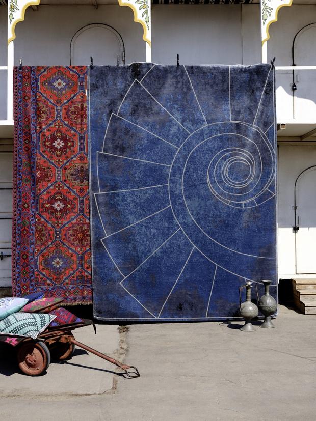 Сказка странствий: самые модные ковры сезона (фото 4)