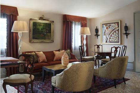 Архитектурное достояние Венеции: отель Gritti Palace | галерея [1] фото [20]