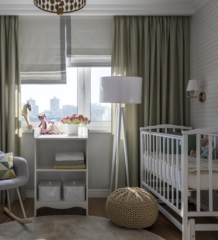 Дитя заката: фламинго и другие яркие  решения в типовой квартире 55 м² (фото 12)