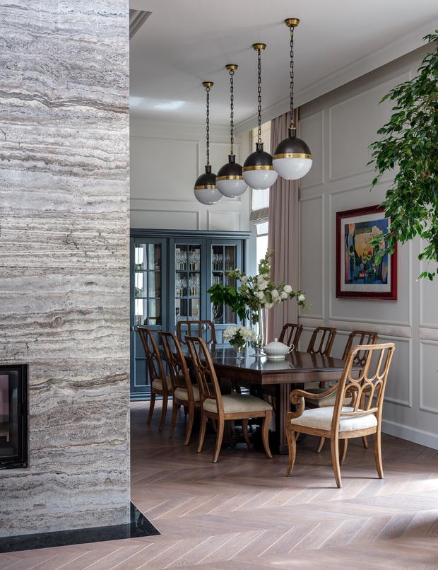 Яркий дом 500 м² по проекту Нади Зотовой (фото 3)