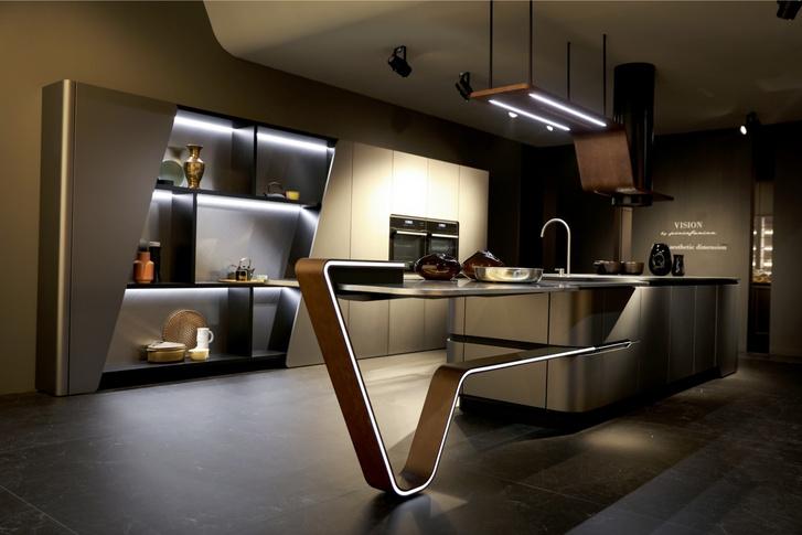 Кухня в стиле техношик (фото 3)