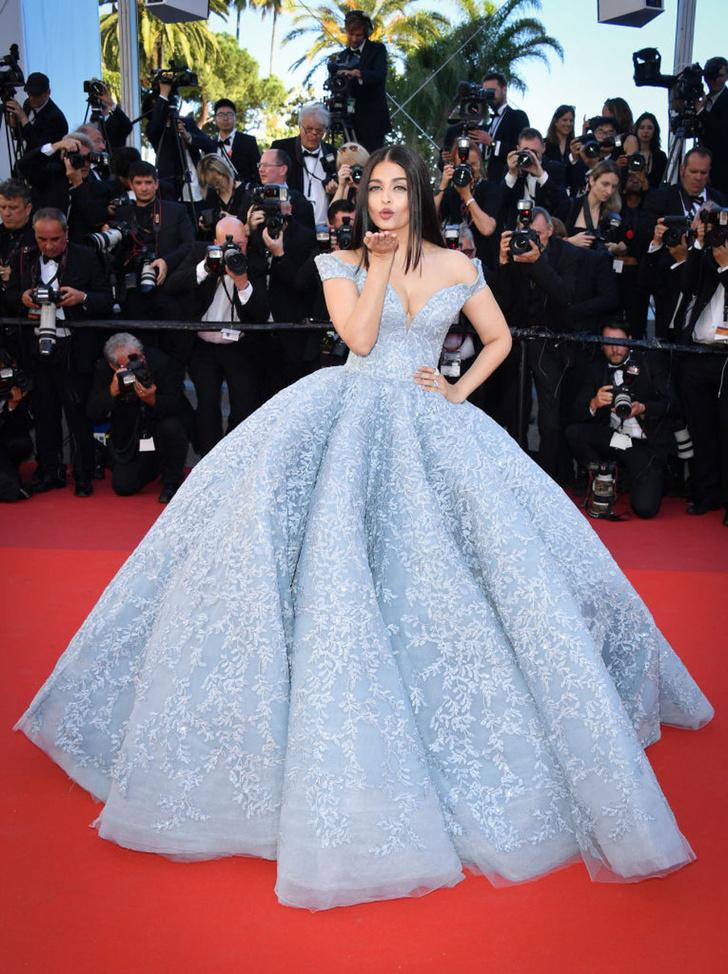 Айшвария Рай Бакчан в Michael Cinco Couture на Каннском кинофестивале