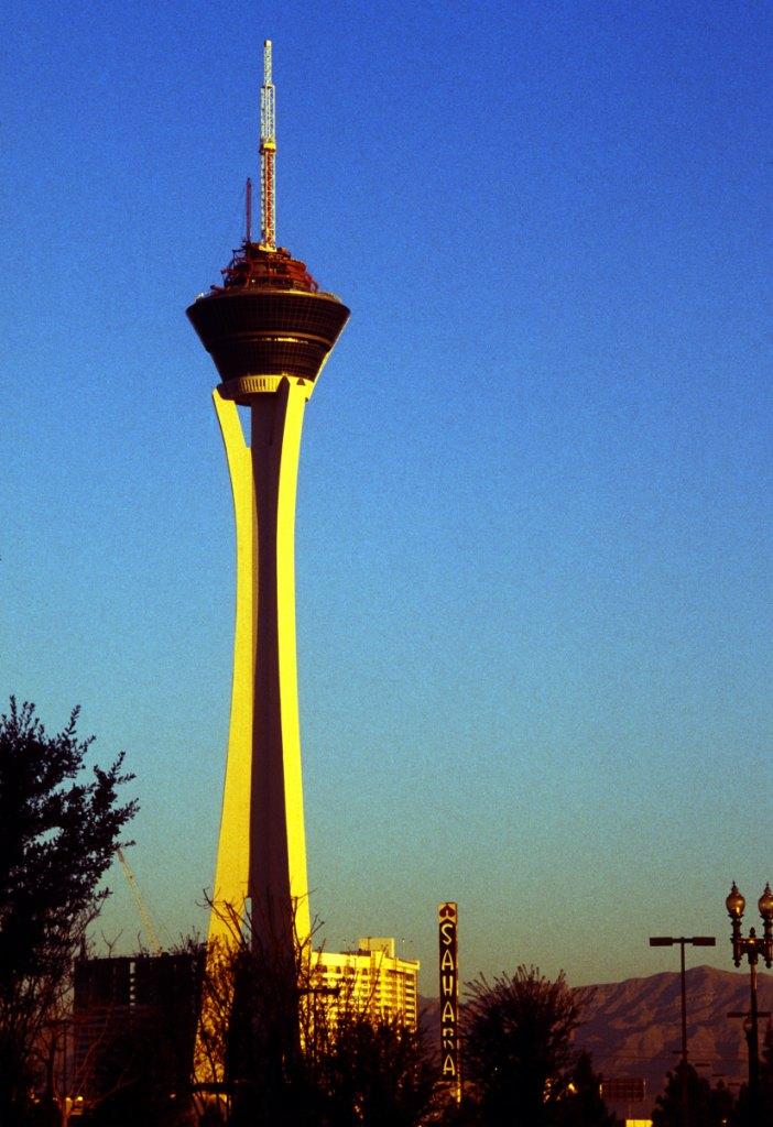 Башня «Стратосфера», США интересные аттракционы
