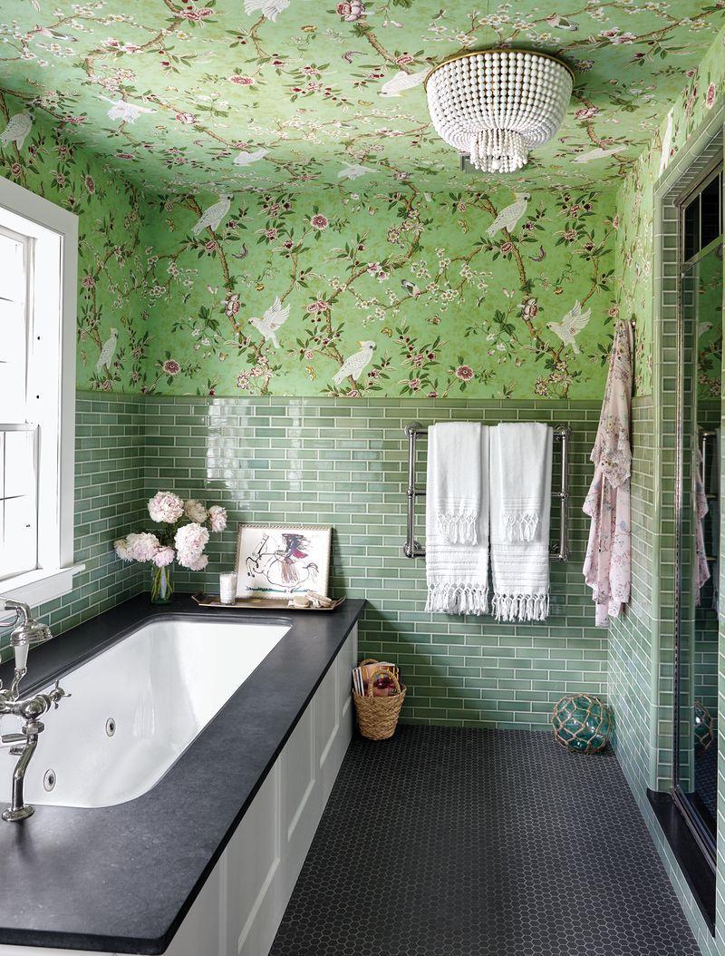 Плитка в ванной: 40+ нескучных решений (галерея 1, фото 0)