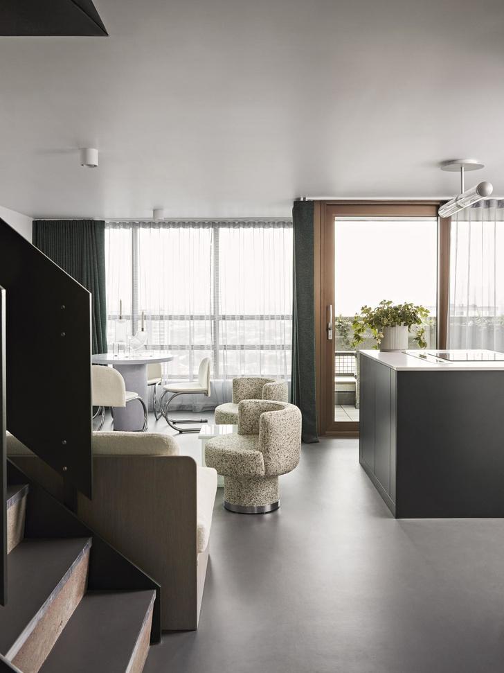 В лондонской Balfron Tower открыли две шоу-квартиры с обстановкой (фото 4)