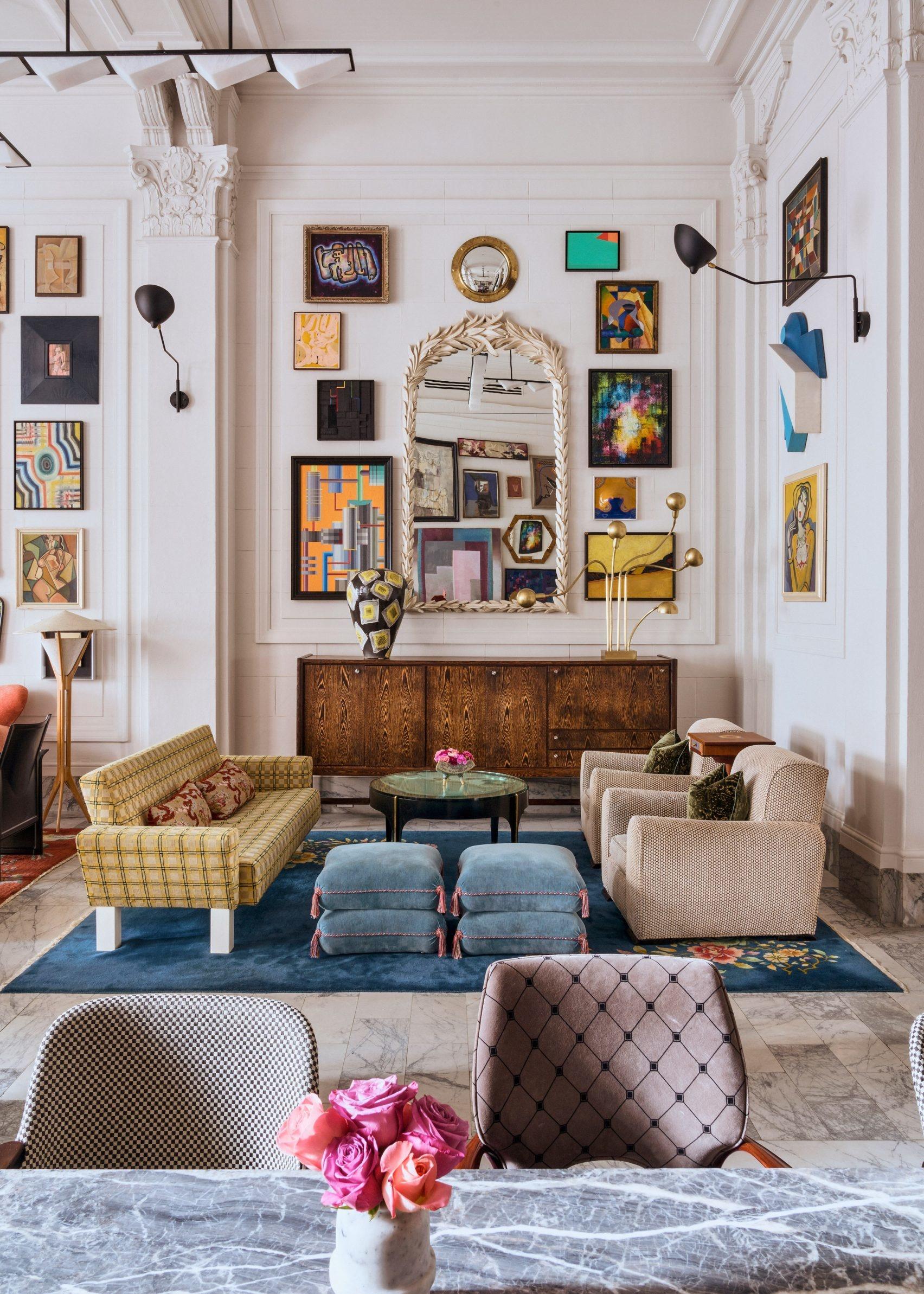 Винтажный look: Келли Уестлер оформила отель в Сан-Франциско (галерея 4, фото 4)