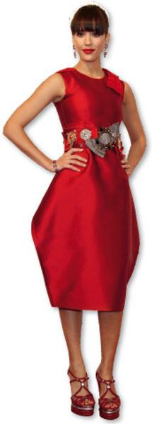Джессика Альба в Dolce & Gabbana