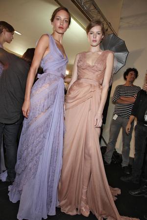 Показ Elie Saab коллекции сезона Весна-лето 2011 года Haute couture - www.elle.ru - Подиум - фото 217956