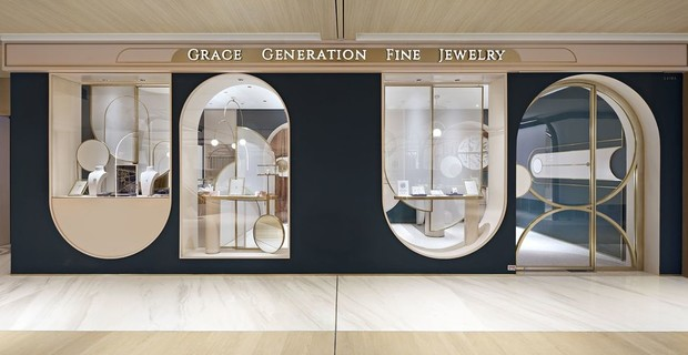 ювелирный бутик в Шанхае (фото 1)