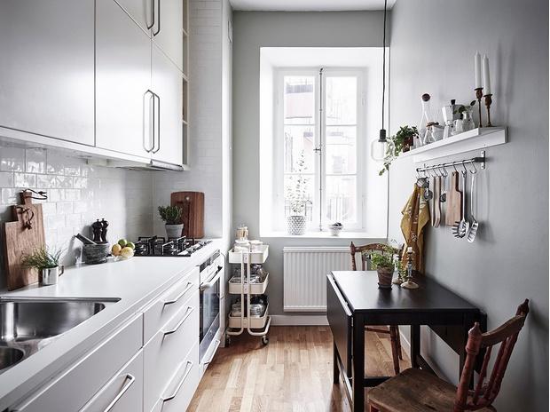 Маленькая кухня-столовая: 12 практичных советов (фото 40)