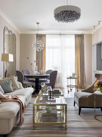 Квартира 118 м² на Плющихе: проект Марины Поклонцевой (фото 5)