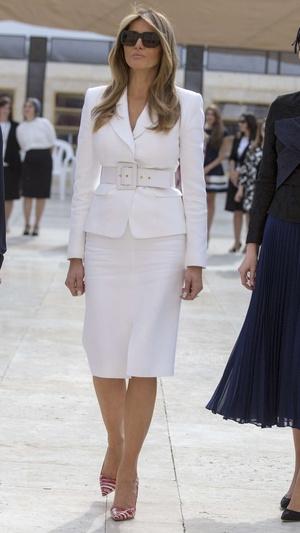 8 примеров того, как Мелания Трамп вдохновляется стилем принцессы Дианы (фото 16)