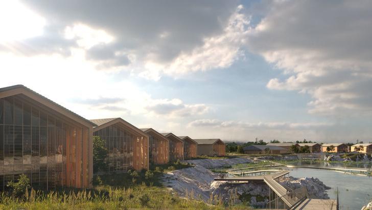 Вискарня в пирамидах по проекту Шигеру Бана (фото 10)