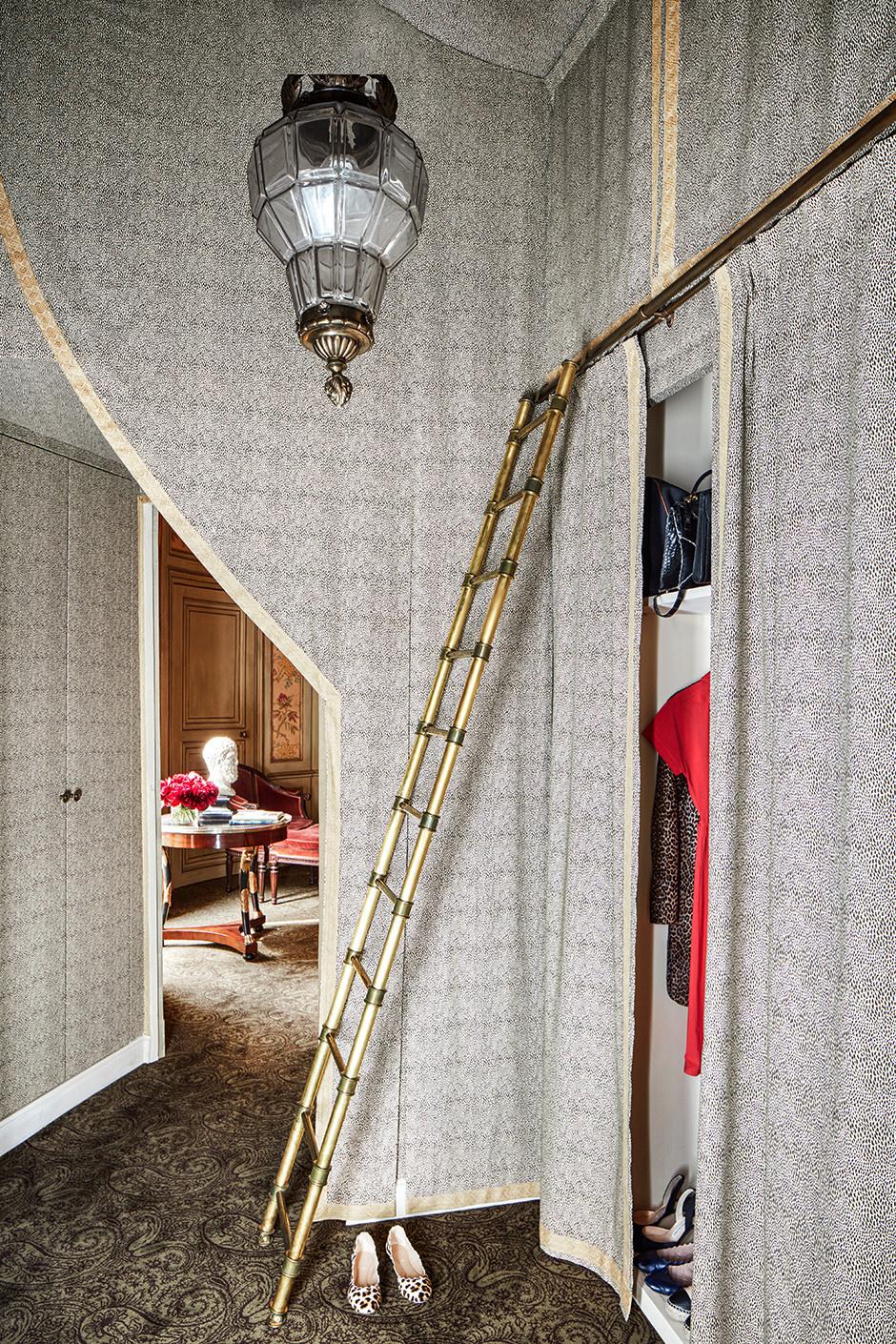 Квартира в парижском особняке XVIII века фото [7]