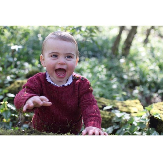 Редкие фото: Кейт Миддлтон сделала три портрета своего сына принца Луи (фото 2)