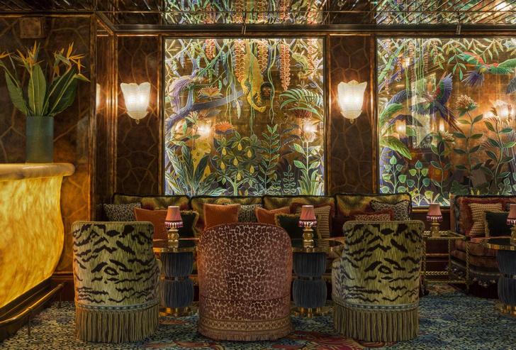 Провокационный максимализм: клуб Annabel's в Лондоне (фото 4)