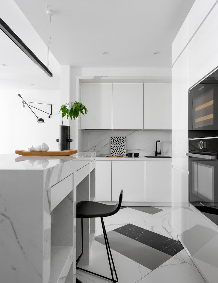 Форма цвета: квартира 90 м² на Патриарших прудах (фото 4)