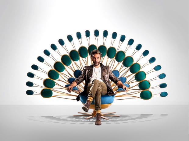 """Кресло """"Павлин"""" от Visionnaire (фото 0)"""