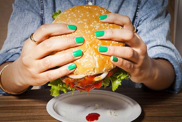 Если вас тянет съесть бургер...