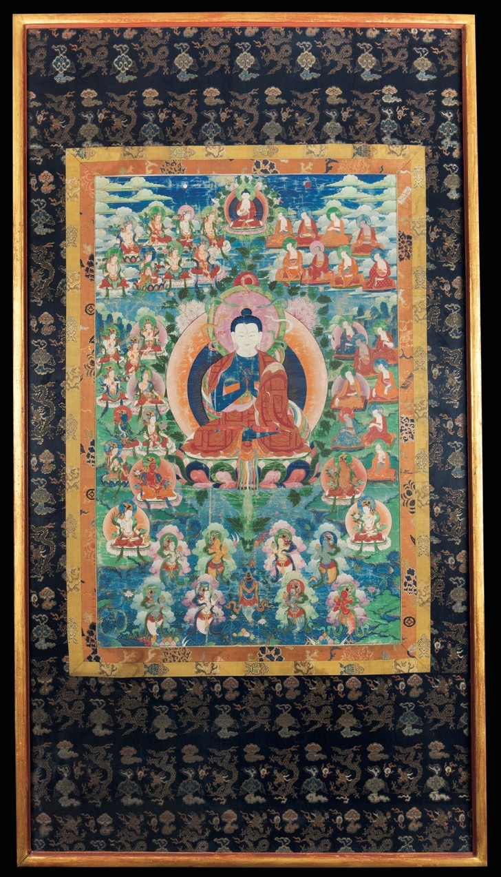 #Лучшедома: лекция о тибетской сакральной живописи (фото 0)