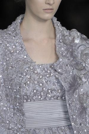 Показ Elie Saab коллекции сезона Весна-лето 2009 года Haute couture - www.elle.ru - Подиум - фото 86582