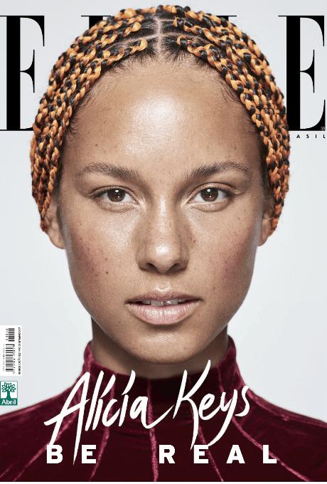 superwoman Алиша Кис без косметики в журнале Elle Brazil