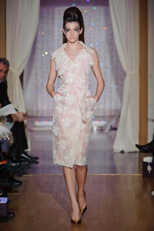Показ Eric Tibusch коллекции сезона Весна-лето 2013 года Haute couture - www.elle.ru - Подиум - фото 478415
