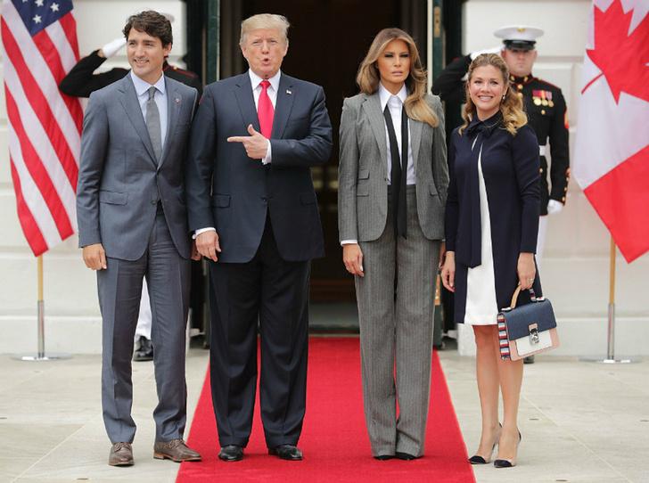 Мелания Трамп в Ralph Lauren