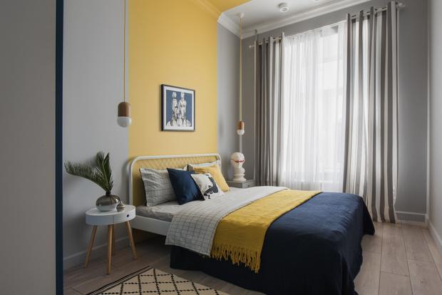 Color blocking: квартира 46 м² под сдачу (фото 12)
