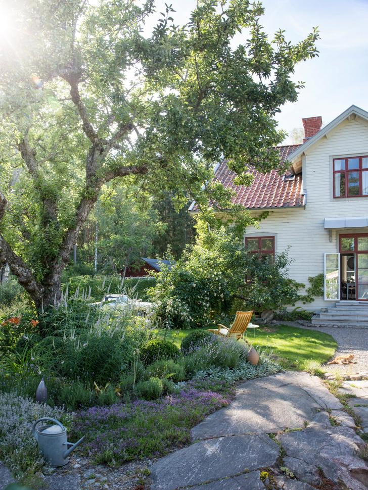 Голубая мечта: дом шведской художницы Гуннель Салин (фото 24)
