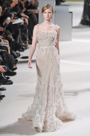 Показ Elie Saab коллекции сезона Весна-лето 2011 года Haute couture - www.elle.ru - Подиум - фото 216815