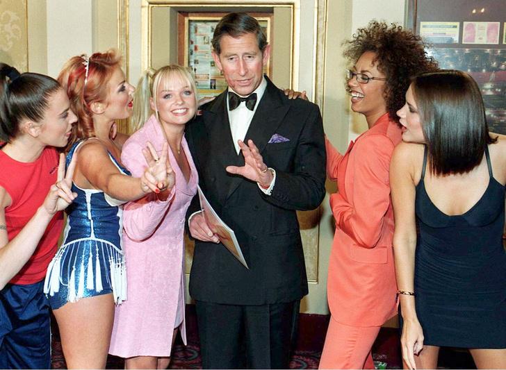 Принц Чарльз и Spice Girls