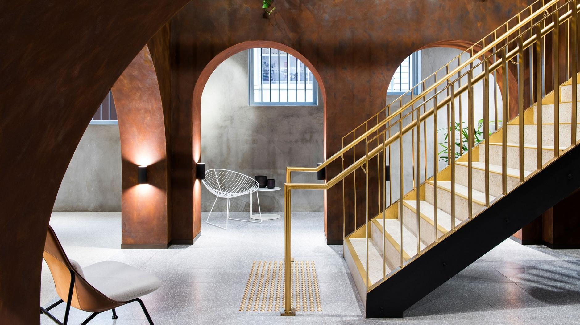 Индустриальный шик: мебельный бутик в Мельбурне (галерея 3, фото 2)