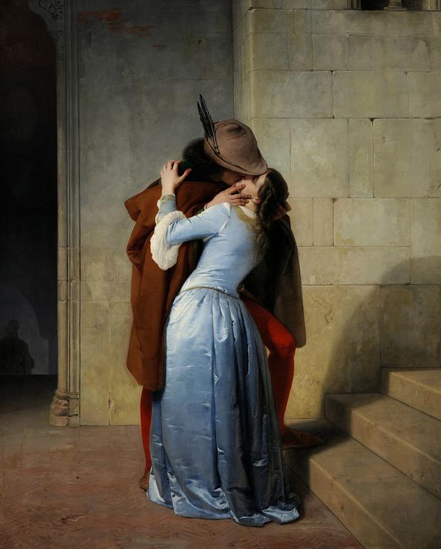 Любовное настроение: 24 культовые скульптуры, картины и фотографии поцелуев (фото 34)