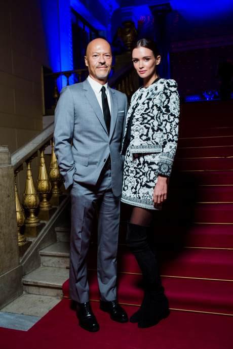 Федор Бондарчук и Паулина Андреева на шоу Maison Bohemique фото [1]