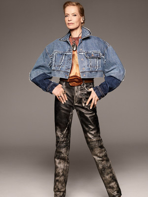 7 новых способов носить брюки на высокой талии (фото 21)