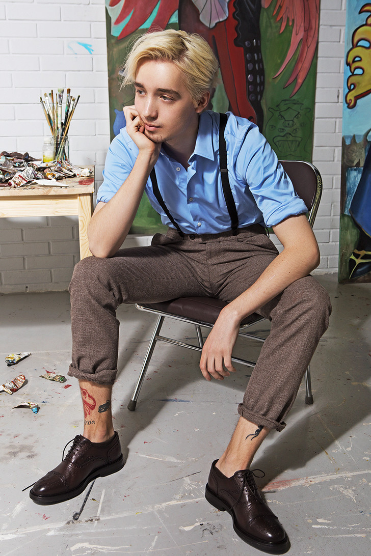 """Владимир Карташов: """"Я рисовал грязные улицы и в 14 лет решил стать художником"""" (фото 1)"""