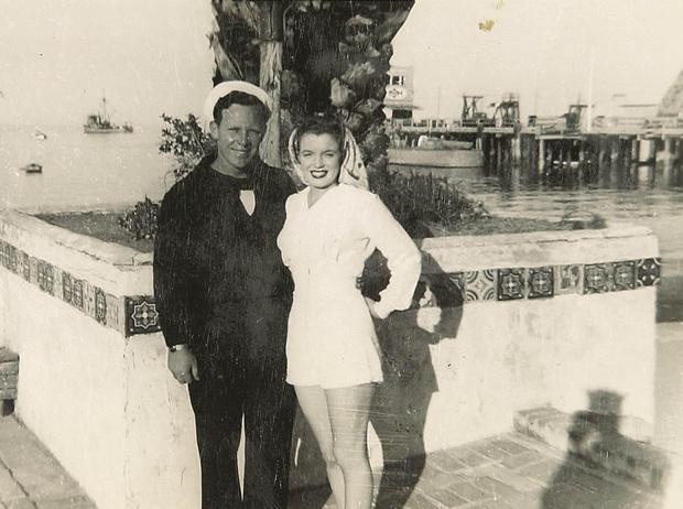 Джим Догерти и Мэрилин Монро Мужчины Мэрилин Монро: фото