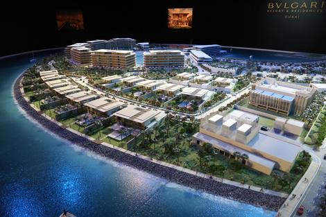 Bvlgari представила проект резиденций в Дубае | галерея [1] фото [1]