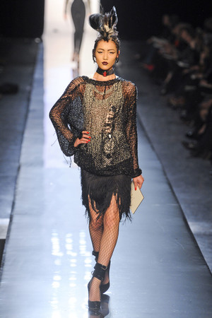 Показ Jean Paul Gaultier коллекции сезона Весна-лето 2011 года Haute couture - www.elle.ru - Подиум - фото 217243