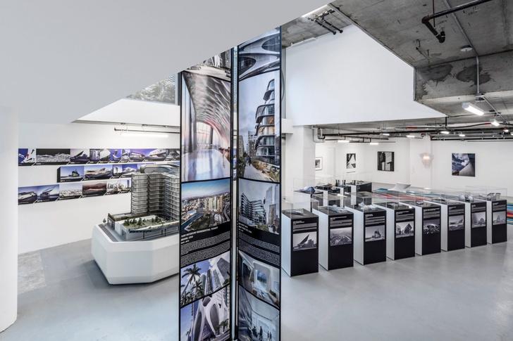 Экспозиция Zaha Hadid Gallery в Нью-Йорке (фото 3)