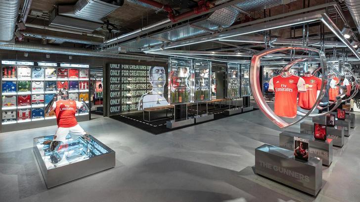 Новый флагман Adidas в Лондоне (фото 0)