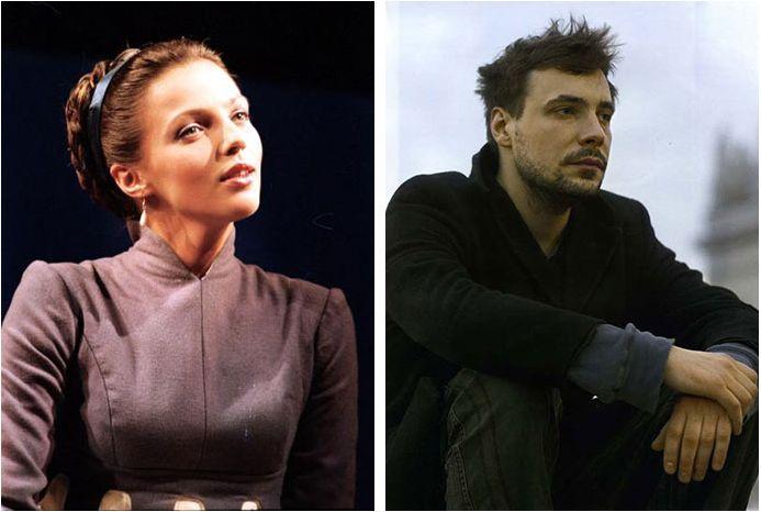 Евгений Цыганов и Ирина Леонова