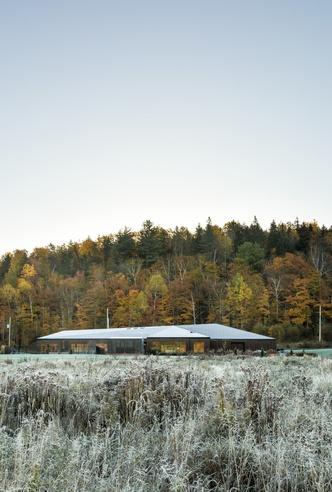 Осенняя соната: дом в поле по проекту Шевалье Моралеса (фото 1.2)