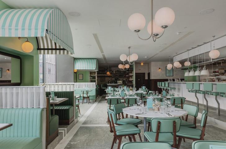 Ресторан Lina Stores в историческом районе Кингс-Кросс (фото 0)