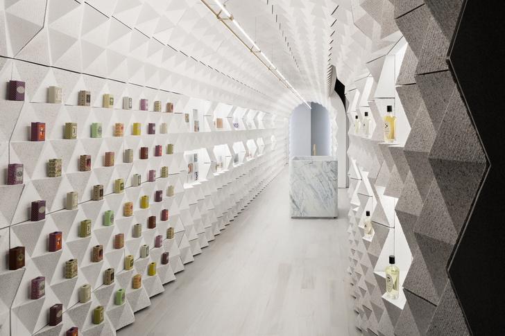 Парфюмерный бутик Claus Porto в Нью-Йорке (фото 5)