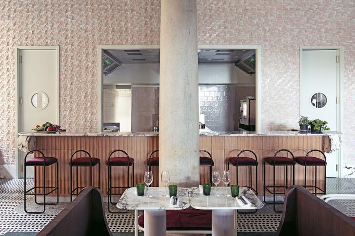 Ресторан Adriatica по дизайну Доротеи Мейлихзон в Венеции (фото 6)