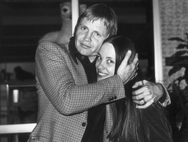 Джон Войт и Маршелин Бертан, 1976 г.