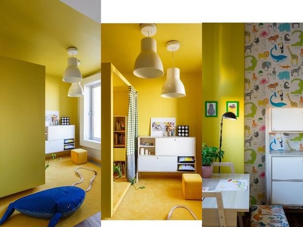 Солнце мое! Лучшие решения для детских от российских дизайнеров (фото 22)